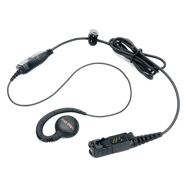 PMLN5727 Otočné slúchadlo na ucho, mikrofón s PTT MagOne