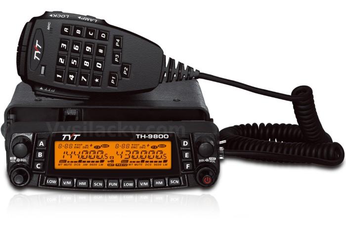 TH-9800 - QUAD Band verzia 2 plus 66-88 MHz
