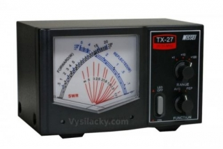 SWR a PWR meter TX-27 26-30 Mhz